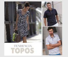 ¡Que viva el topo! Un estampado clásico que nunca pasa de moda #massana #dress #print #topos #mujer #hombre #summer #spring