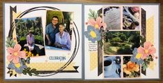 Photo Layouts, Scrapbook Page Layouts, Scrapbooking Ideas, Scrapbook Pages, 6 Photos, Pictures, 10 Picture, Title Page, Creative Memories