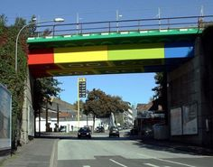 Lego Bridge (Painting) - Germany / Wuppertal