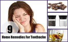 9 Home Remedies For Toothache