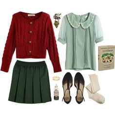 fashion inspiration; lucy pevensie {narnia}                                                                                                                                                                                 More