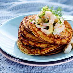 Tattariblinit | Leivonnaiset | Yhteishyvä Joko, Pancakes, Breakfast, Recipes, Morning Coffee, Recipies, Pancake, Ripped Recipes, Cooking Recipes