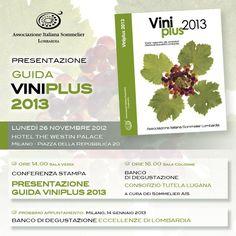 Presentazione Guida «VINIPLUS 2013» AIS LOMBARDIA