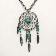 some one please get me this..dream catcher necklace