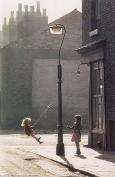 In a scene from 1965, Ms Baker captures this image which could have easily come from 50 ye...