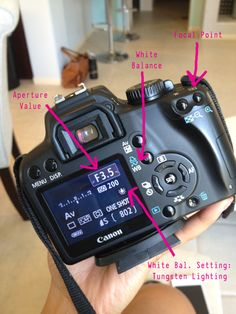 Photography 101.  LOVE THIS FOR BEGINNERS!