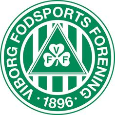Viborg Fodsports Forening (Viborg FF/VFF) | Country: Danmark / Denmark. País: Dinamarca | Founded/Fundado: 1896/04/01 | Badge/Crest/Logo/Escudo.