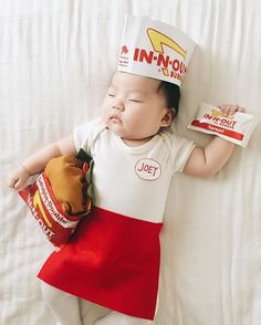 Pin for Later: This Baby Gets Photographed Wearing an Incredible Costume Every Time She Naps In-N-Out