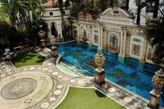 Amazing pool, Gianni Versace home in Miami