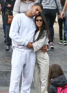 Kourtney Kardashian Met Younes Bendjima in Paris — Right Before Kim's Terrifying Robbery
