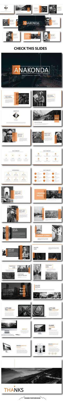 Anakonda Presentation Template - PowerPoint Templates Presentation Templates