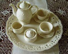 Child's Miniature Tea Set