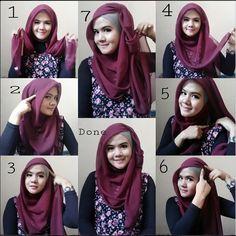 Stunning & Stylish Hijab Tutorial