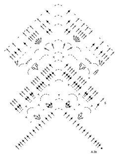 """Light's Embrace - Poncho rendado DROPS, em croché, feito de cima para baixo, em """"Paris"""". Do S ao XXXL. - Free pattern by DROPS Design"""