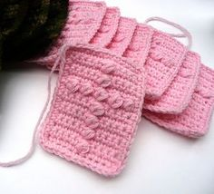 Prayer Squares crochet pattern