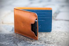 Leather Wallet with iPhone 5 Case by Danny P. - this could be the first: a full-size bi-fold wallet with an integrated iPhone case.