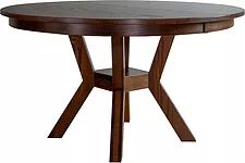 Fulton Dining Table|Oak in Rich Tobacco OCS228|Many Sizes Available|The Amish Home|Amish Furniture at the Pittsburgh Mills