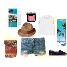 """Summer days"" by terelopi on Polyvore"