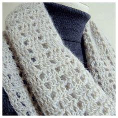 スヌードの無料編み図:かぎ針編み初心者のためのかぎ針編み入門サイト『かぎ編みをはじめよう』