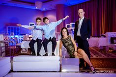 B'Nai #Mitzvah #Family #Portrait by#DominoArts #Photography (www.DominoArts.com)