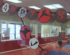 Karate Kid Birthday Banner by FavorMeDesigns on Etsy, $30.00