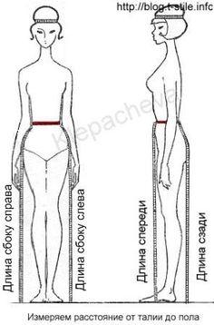 Faldas y vestidos patrón de ajuste en el vientre protuberante .. Comentarios: LiveInternet - Russian Servicio Diarios Online