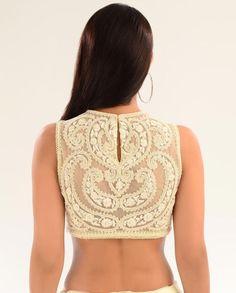 Pearl embellishment on blouses