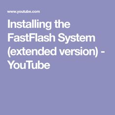 Installing the FastFlash System (extended version) Building Products, How To Apply, Youtube, Youtubers, Youtube Movies