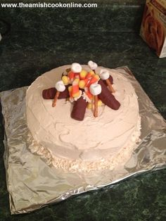 Campfire Cake | Amish Recipes Oasis Newsfeatures