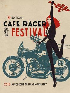 Cafe Racer Festival Poster