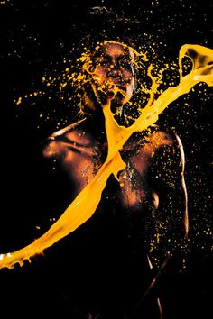 Sexy Color Splashing Photography by Gabriel Wickbold | DeMilked