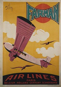 Farman Airlines Poster