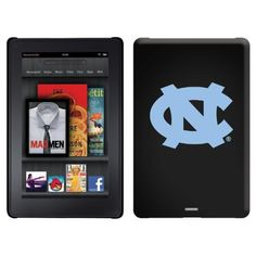 North Carolina Logo design on a Black Thinshield Case for Amazon Kindle Fire by Coveroo. $39.95. This hard shell polycarbonate case offers a slim fit form factor, while covering the back and sides of your Kindle Fire