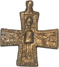 Slavic Solar Cross Enkolpion From Wrocław Silesiorum Le Ch, 11th Century, Poland, Vikings, Symbols, Traditional, Cool Stuff, History, Cities