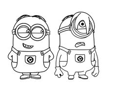 Afbeelding Minion Kleurplaat Free Printable Despicable Me Coloring Pages For Kids