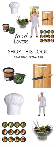 """""""Master Chef Jr"""" by imaboss217 ❤ liked on Polyvore featuring Chef Buddy, Natico, Sur La Table and Nambé"""