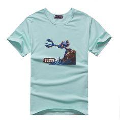 Classic Fizz Manches Courtes T-shirts couleur unique (16 couleurs)