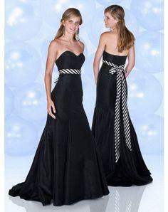 Empire Sweetheart Belt Sleeveless Floor-length Taffeta Prom Dresses / Evening Dresses (SZ0253794 )