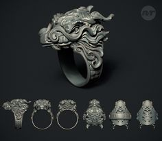 ArtStation - Dragon Ring, Nacho Riesco Gostanza