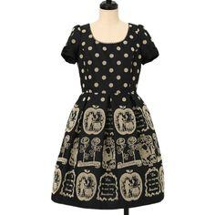 ♡ Emily Temple cute ♡ Fairy tale pattern flocky dress http://www.wunderwelt.jp/products/detail13520.html ☆ ·.. · ° ☆ How to order ☆ ·.. · ° ☆ http://www.wunderwelt.jp/user_data/shoppingguide-eng ☆ ·.. · ☆ Japanese Vintage Lolita clothing shop Wunderwelt ☆ ·.. · ☆