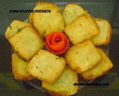 Corn Stuffed Pockets