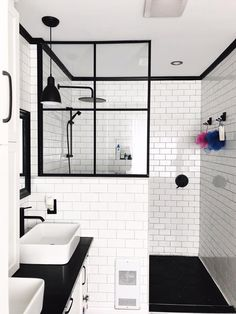 Beautiful bathroom decorating tips. Modern Farmhouse, Rustic Modern, Classic, light and airy bathroom design some tips. Master Bathroom makeover a couple of tips and master bathroom remodel recommendations. Bathroom Renos, Basement Bathroom, Bathroom Renovations, Remodel Bathroom, Basement Toilet, Budget Bathroom, Bad Inspiration, Bathroom Inspiration, Modern Bathroom