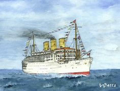 Strathaird 1932, P&O Steam Navigation Co, GB