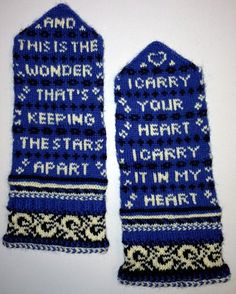 Ravelry: kenski's Poetry mittens for Ruth