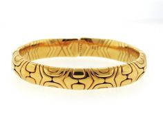 Bulgari Bvlgari Alveare 18K Gold Cuff Bracelet Featured in our upcoming auction on September 13!