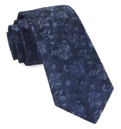 Ramble Floral Navy Tie with in. wide x 58 in. Traditional Jacket, Tie Styles, Wedding Ties, Wedding Decor, Skinny Ties, Floral Tie, Floral Fabric, Floral Design