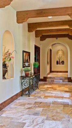 Spanish style homes – Mediterranean Home Decor Hacienda Style Homes, Spanish Style Homes, Spanish House, Casa Patio, Mediterranean Home Decor, Mediterranean Architecture, Patio Flooring, Cheap Home Decor, My Dream Home