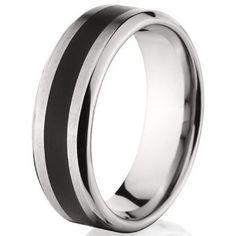 New Designer Beveled Titanium Rings Inlayed Bands Jewelry sizes 8 to 12 (Jewelry)  http://www.1-in-30.com/crt.php?p=B0031H6HNI  B0031H6HNI