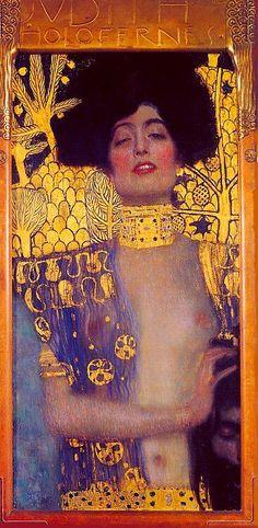 """Gustav Klimt, """"Judith""""                                                                                                                                                                                 Más"""