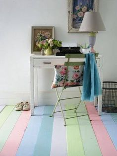 Period living magazine summer pastels